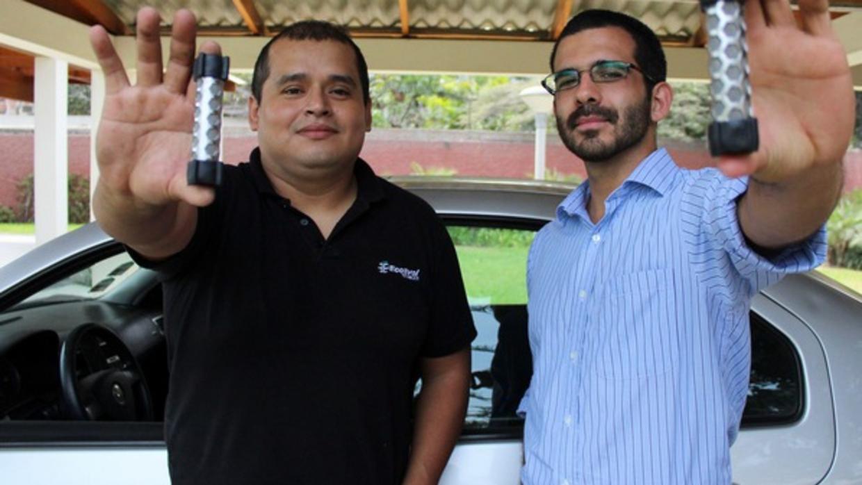 Peruanos crearon un catalizador para vehículos que reduce entre el 60 y 90% sus emisiones tóxicas