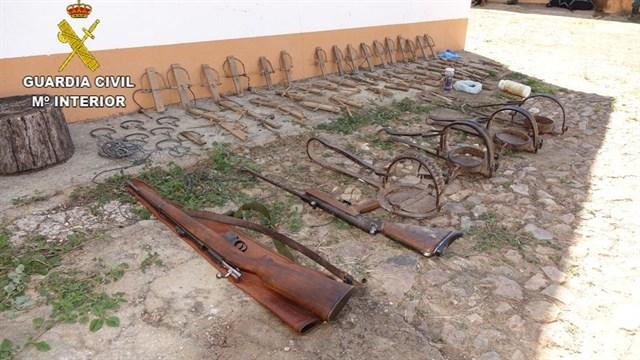 Tres detenidos en Cáceres por envenenar aves en peligro de extinción