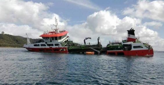 Chile: El hundimiento de una embarcación genera alerta por un posible desastre ambiental