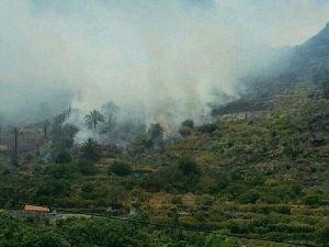 Exigen la puesta en marcha inmediata del dispositivo contra incendios en La Gomera