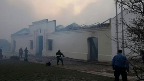 Argentina: Incendios arrasaron varias hectáreas en San Luis