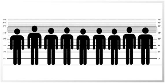 Hombres y mujeres: ¿altos, bajos, obesos, sanos?