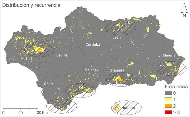 La provincia de Málaga 'azotada' por los incendios forestales
