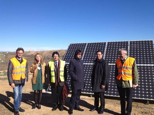El Aeropuerto de Lleida-Alguaire arranca su planta fotovoltaica