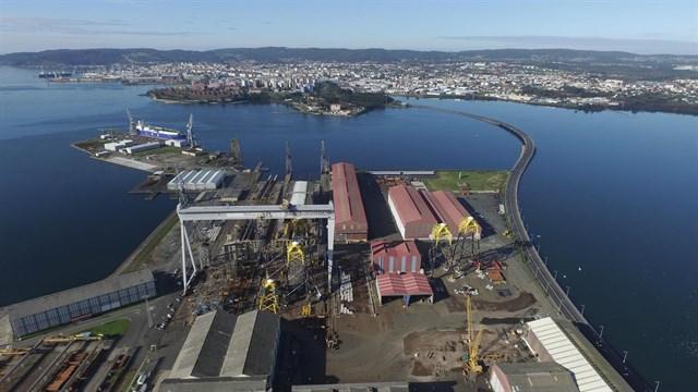 Navantia y Windar construirán en Fene 4 nuevos jackets para un parque eólico de Siemens