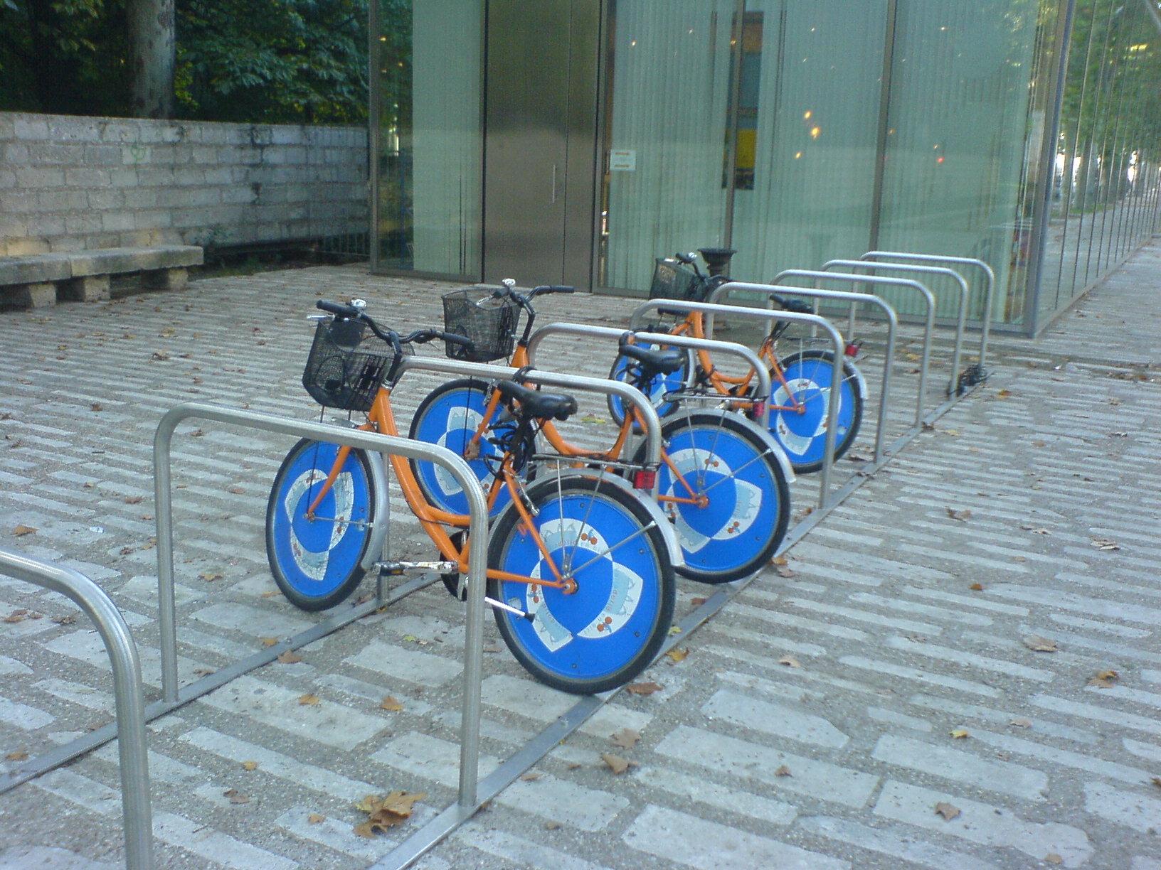Las bicicletas públicas