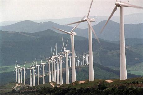 Navarra gracias a las renovables mejora su autoabastecimiento energético