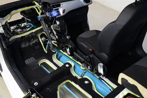 Peugeot Citroën introducirá 'Hybrid Air' un sistema de hibridación de gasolina y aire comprimido