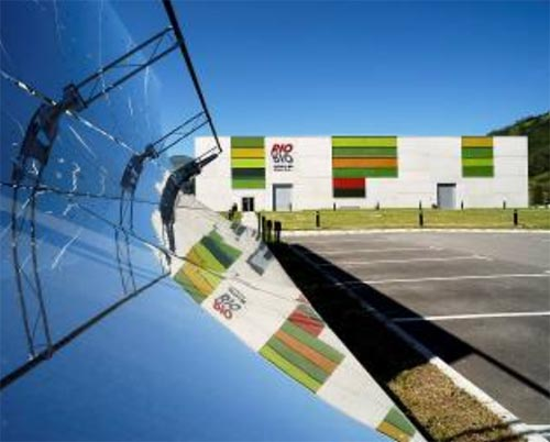 Rioglass Solar tramita la patente de un espejo solar autoportante templado