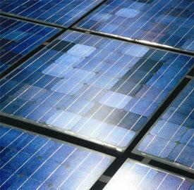 Un panel solar produce en África el doble de electricidad que en Europa central