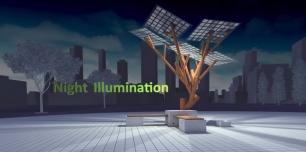 eTree, el árbol solar