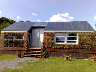 Casas prefabricadas ecol gicas for Como construir una casa de campo