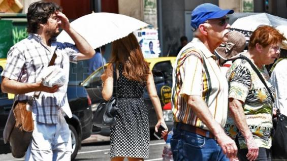 Argentina. Alerta roja por la ola de calor en la capital del país