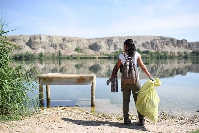 Palma de Mallorca, Ciudadanos de las Islas limpian espacios naturales dentro de la campaña '1m2 por la naturaleza'