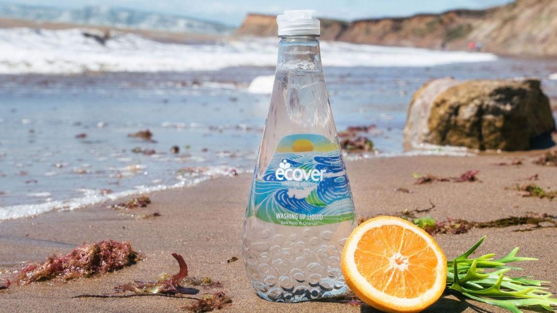 Tecnología verde: envases de plástico marino