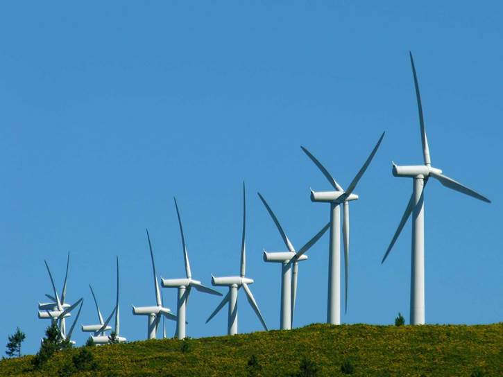La energía eólica española de récord en record