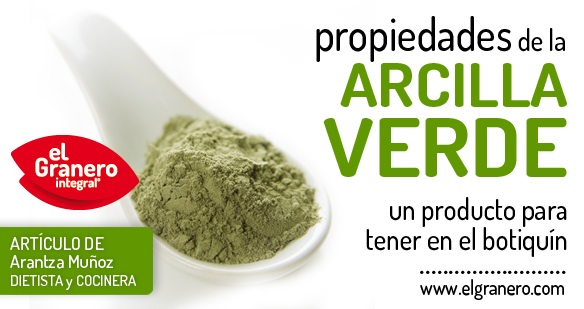 La Arcilla Verde, un remedio muy natural