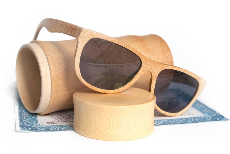 Gafas (de sol) de bambú sostenibles