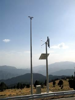 Nuevo sistema de videovigilancia alimentado con energías renovables