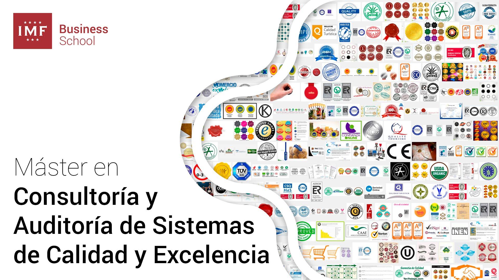 IMF: Máster en Consultoría y Auditoría de Sistemas de Calidad y Excelencia