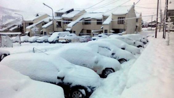 Argentina. Hay un muerto por causa del temporal de nieve en Chubut