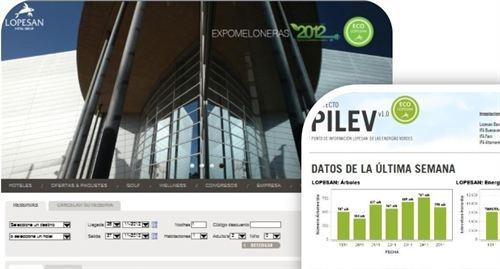 Lopesan activa en su web el punto de información de las energías renovables