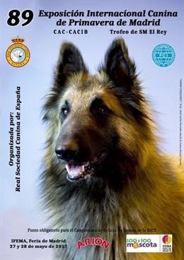 @rsociedadcanina organiza la 89 Exposición Internacional Canina de Primavera, del 27 al 28 de mayo
