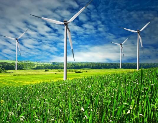 La energía eólica baja el precio de la electricidad hasta el 1 de mayo