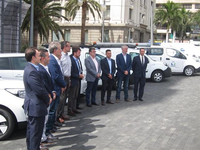 Metrotenerife alcanza el 100% de vehículos eléctricos en su flota auxiliar