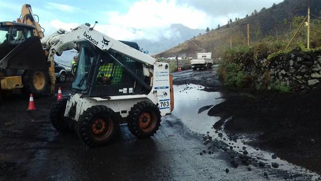 Garafía (La Palma) registra la caída de 218 litros de lluvia por metro cuadrado
