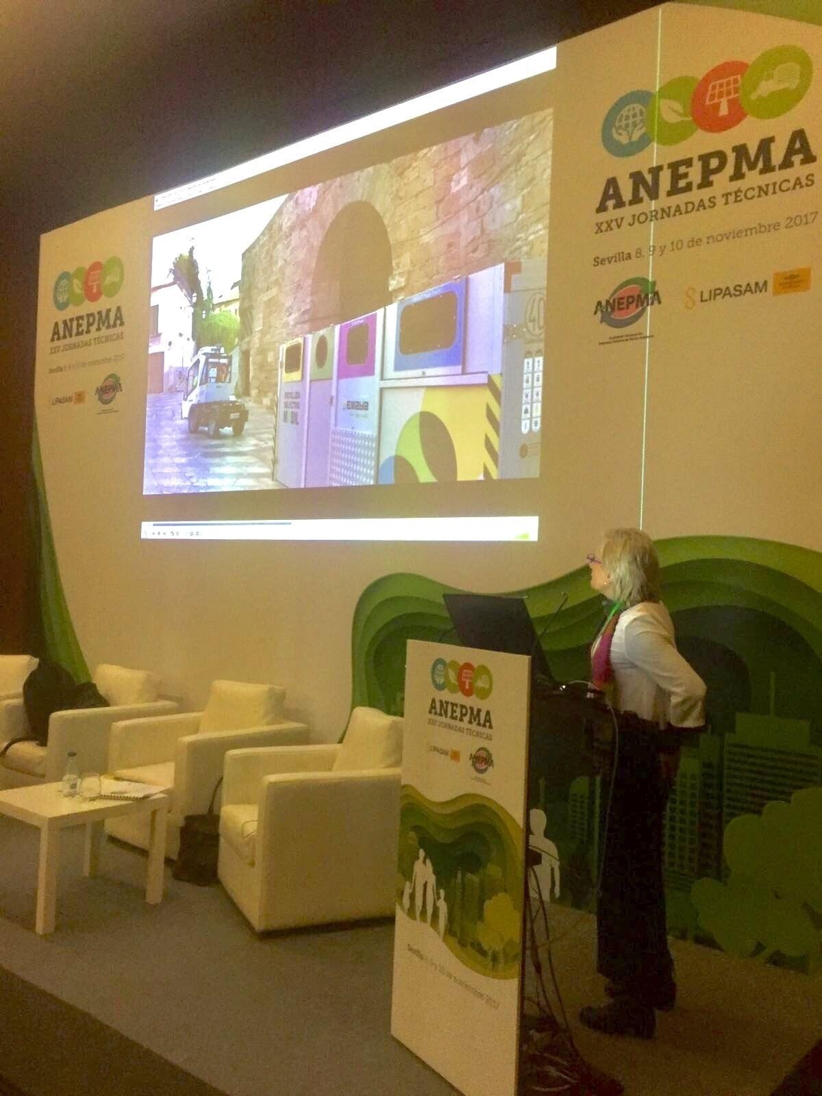 Emaya expone la experiencia de Recogida Selectiva Móvil del centro de Palma en las XXV Jornadas Técnicas de ANEPMA
