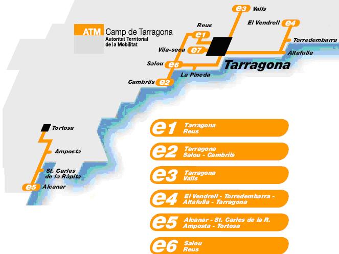 La nueva red de bus 'exprés.cat' reducirá el tiempo de trayecto entre las ciudades con más movilidad de Cataluña