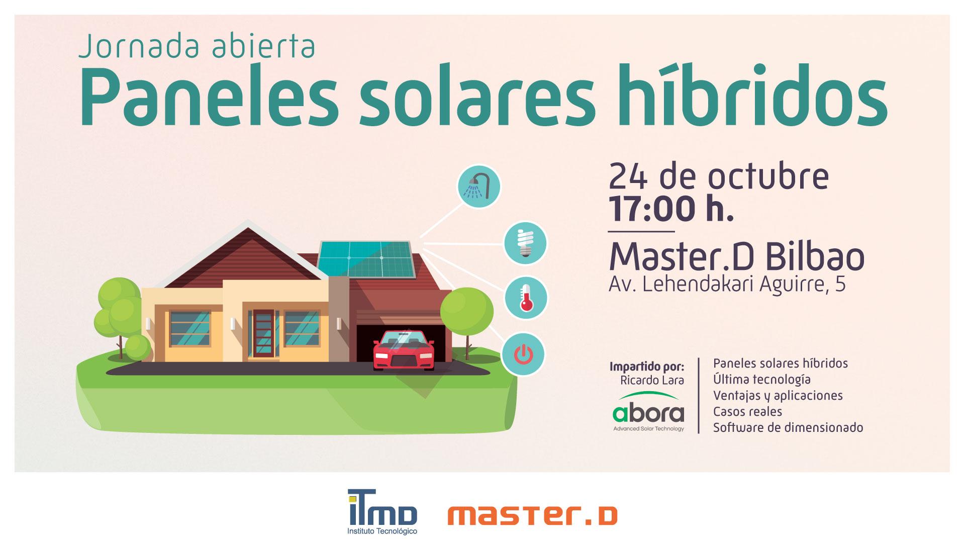 Jornada sobre paneles solares híbridos en Bilbao