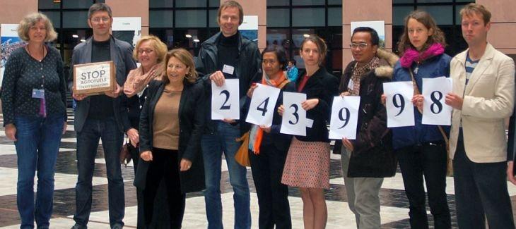 Agrocombustibles: Parlamento Europeo vota por seguir destruyendo las selvas