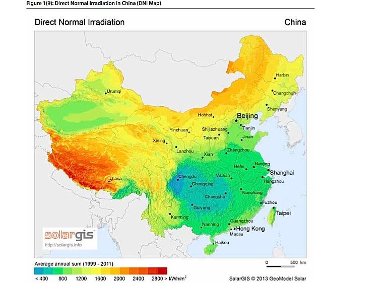 BrightSource y Shanghai Electric desarrollan la termosolar en China