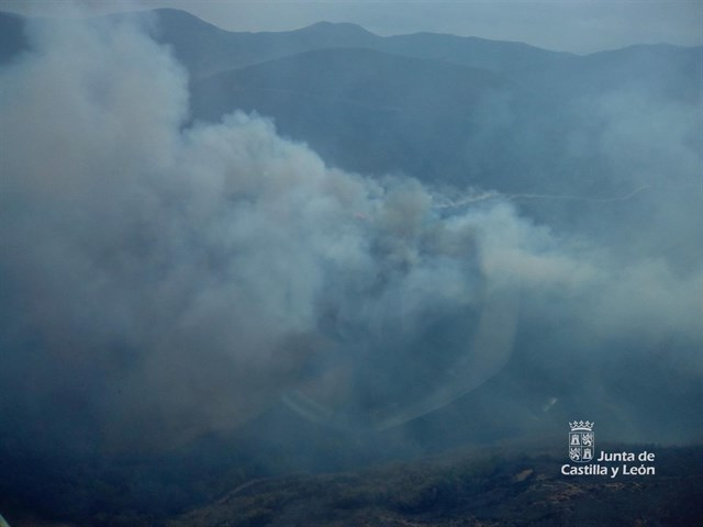 Se mantiene el período medio de riesgo de incendios en CyL hasta el 19 de octubre