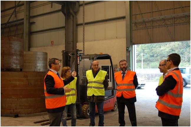 Forjas Iraeta de Zestoa refuerza su producción con la producción de bridas para el sector eólico brasileño
