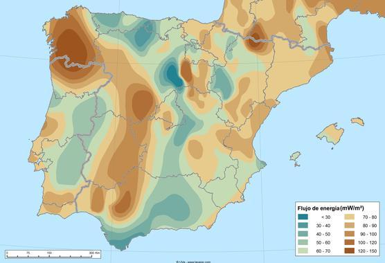 La energía geotérmica de la península ibérica podría generar 700 gigavatios!