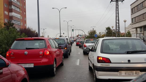 Cerrado al tráfico el centro de Valladolid entre sábado y lunes por contaminación