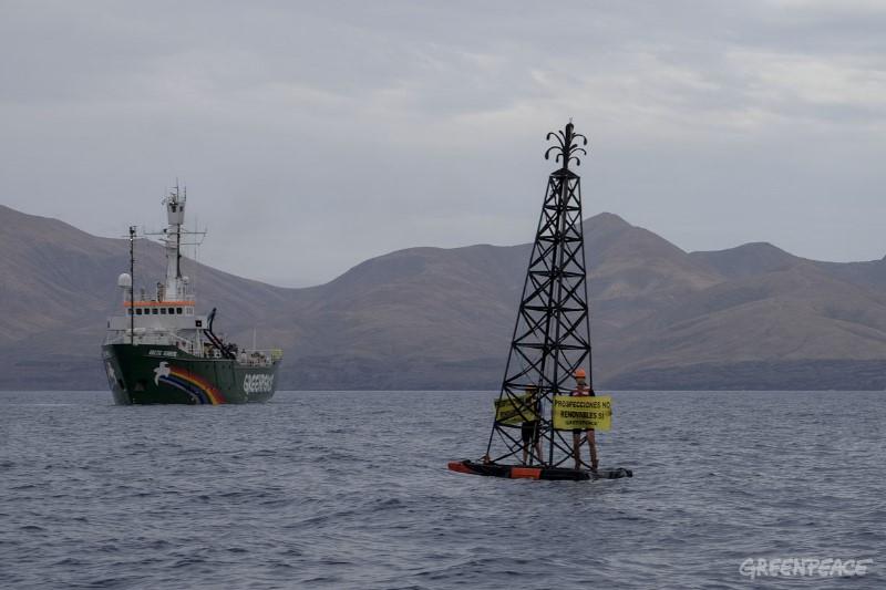Europa investigará las deficiencias técnicas de las prospecciones de Repsol en Canarias