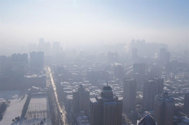 El smog invernal de China se asocia con el deshielo del Ártico
