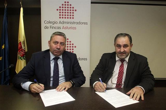Gas Natural Fenosa y El Colegio de Administradores de Fincas acuerda impulsar la eficiencia energética de los edificios
