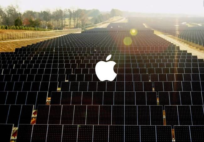 Apple construirá una enorme planta solar de 200 MW