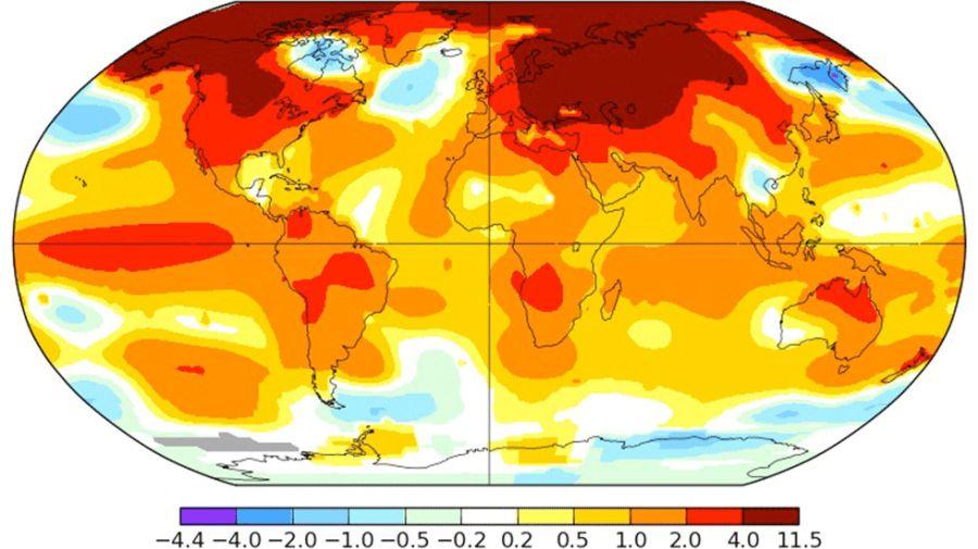 Argentina crea un sistema de mapas de riesgo del cambio climático
