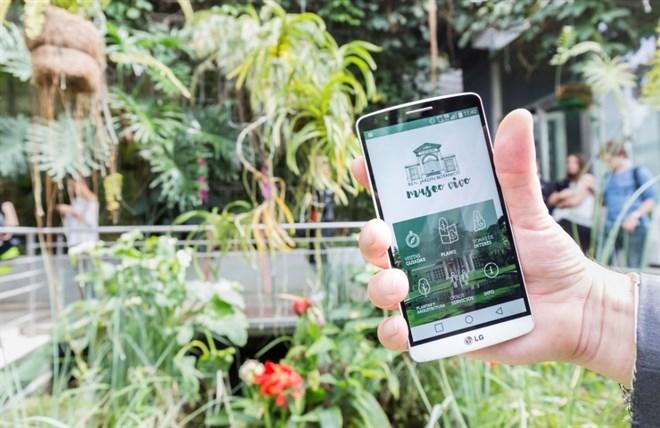 El Real Jardín Botánico estrena una 'app' con la que ofrece planos, información sobre las plantas y visitas guiadas