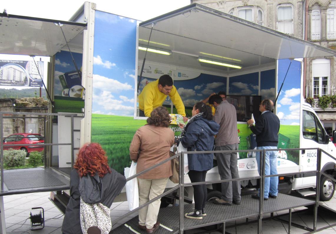 Los concellos de Ribas de Sil y A Pontenova se suman a la campaña de reciclaje de la Xunta de Galicia y Sogama