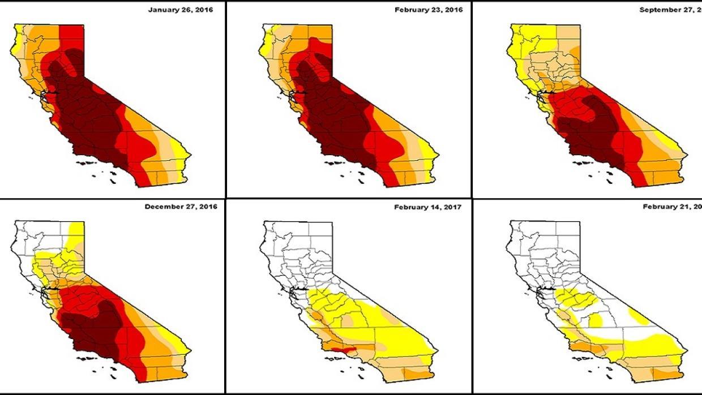 ¿Qué pasó con la legendaria sequía en California?