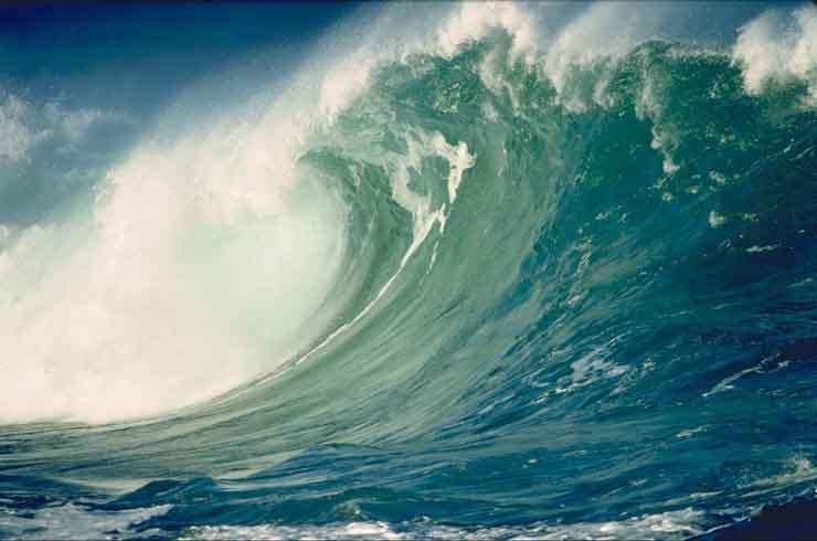 Las aguas del Pacífico sur son las más transparentes