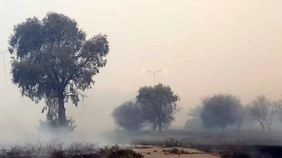 Argentina: Controlan siete focos de incendio cercanos a la capital en San Luis