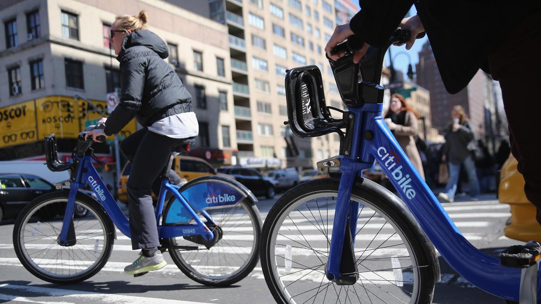 Las bicicletas públicas se imponen en Nueva York